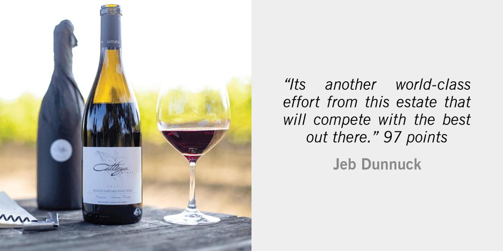 Jeb Dunnuck Tasting Notes 2016 Cattleya Pinot Noit