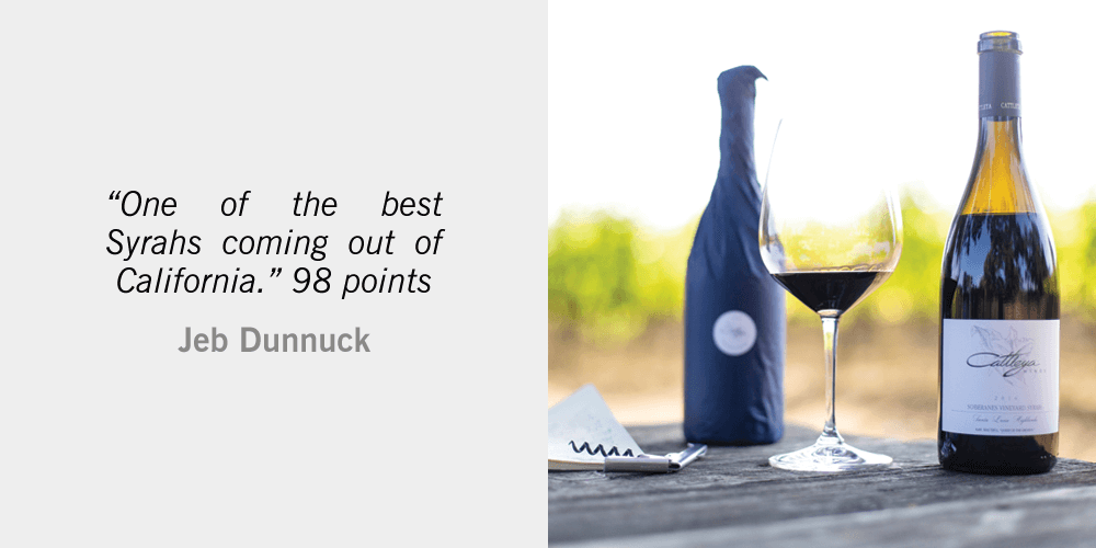 Jeb Dunnuck Tasting Notes 2016 Cattleya Syrah