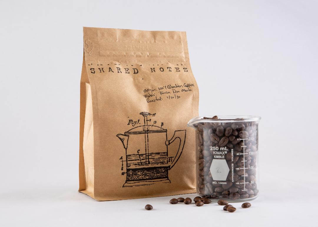 Bag of 100% Colombian Coffee by Shared Notes