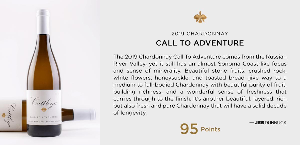 2019 Call to Adventure Chardonnay Jeb Dunnuck 95 Points